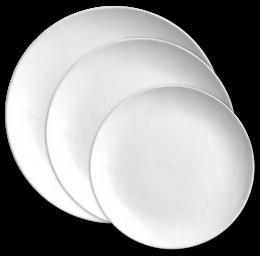 Set talířů v designu Andrea